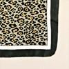 Cheetah Print Bordered Faux Silk Scarf - pr_63516