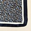 Cheetah Print Bordered Faux Silk Scarf - pr_63518
