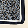 Cheetah Print Bordered Faux Silk Scarf - pr_63518