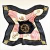 Sail Away Print 100% Silk Scarf - pr_63958