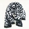 Bordered Leopard Print Scarf - pr_62954