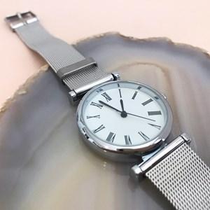 Narrow Mesh Band Watch