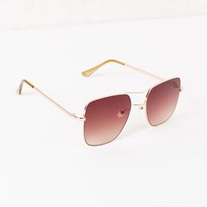5082A Square Large Bar Aviator Sunglasses