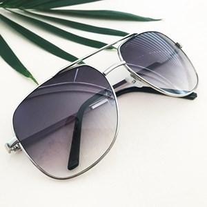 5089C Large Square Aviators Sunglasses