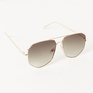 5090A Gold Edge Shapes Aviator Sunglasses