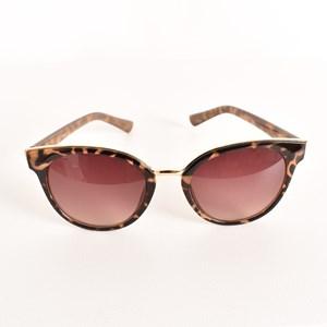 7493E Oversized Tort Frame Sunglasses