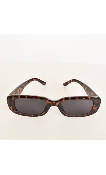 7650E Too Chic Rectangle Sunglasses