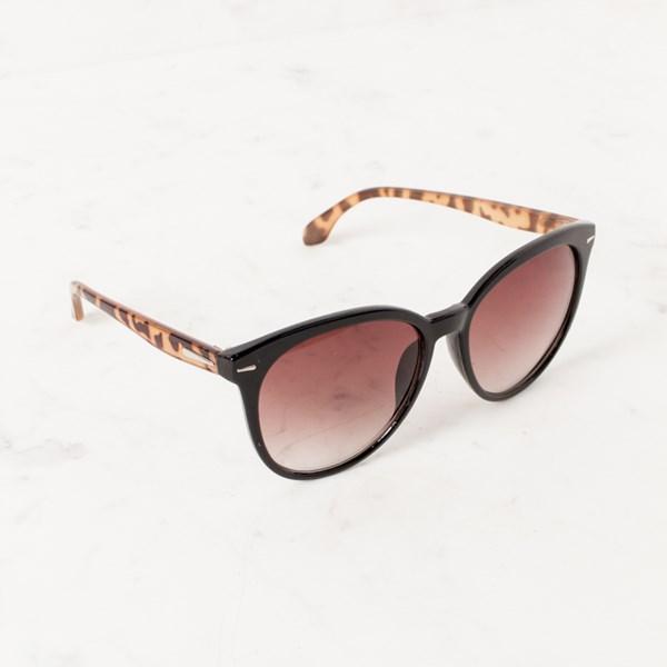 8375B Basic Black Frame Tort Arms Sunglasses
