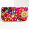 Rainbow Patchwork Fold Over Clutch - pr_60173