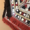 Mexicana Mirrors & Fringe Fold Over Clutch - pr_62626