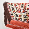 Mexicana Mirrors & Fringe Fold Over Clutch - pr_62635