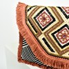 Eastern Bead & Fringe Fold Over Clutch - pr_62671