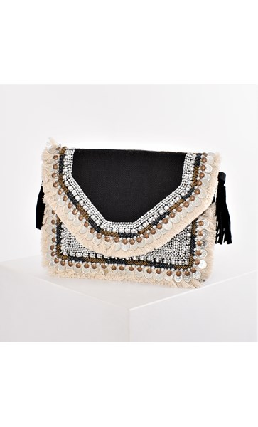 The Wanderer Fringe & Coin Small Bag