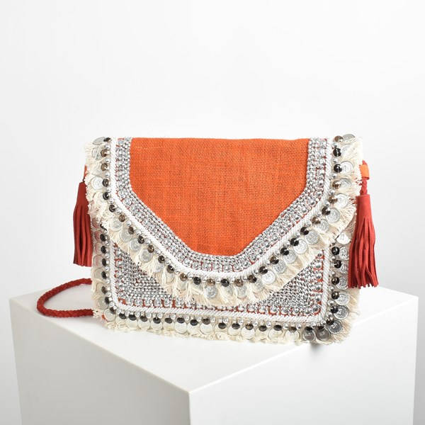 The Wanderer Fringe & Coin Small Bag