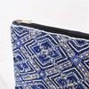 Moroccan Tile Beaded Zip Top Clutch - pr_67136