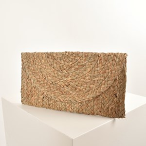 Natural Weave Basic Clutch