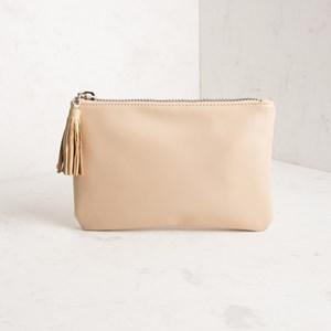 Leather Tassel Zippy