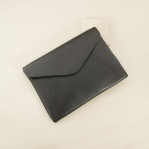 Pointed Flapover Envelope Clutch