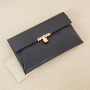 Fold over Clutch with Ball