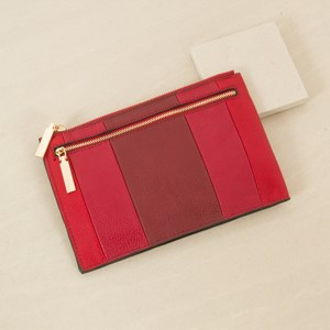 Tri Tone Purse with Gusset