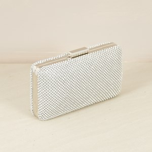 Diamante Framed Evening Clutch