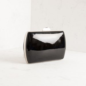 High Shine Curved Structured Clutch