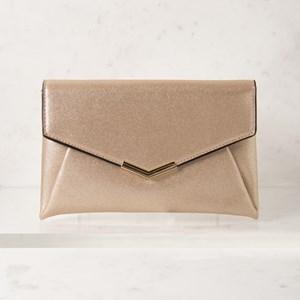 Mini Fine Glitter Envelope Clutch