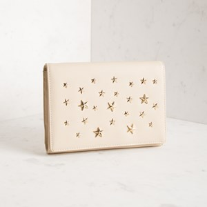 3D Star Foldover Clutch