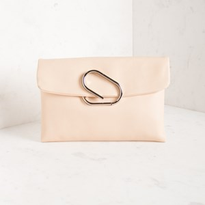 Smooth Simple Fold Over Clutch