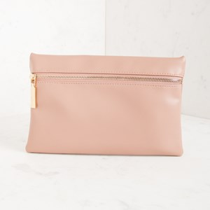 Zip Front Small Clutch