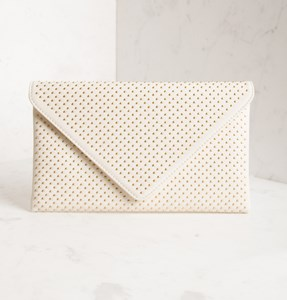 Mini Studded Envelope Clutch