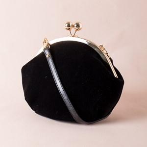 Clip Top Vintage Style Bag