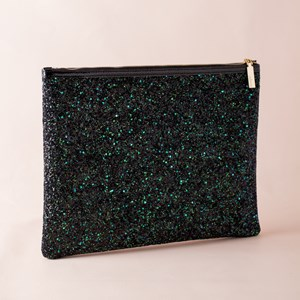 Textured Glitter OTT Large Clutch