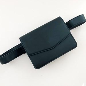 Flap Over Slim Belt Bag
