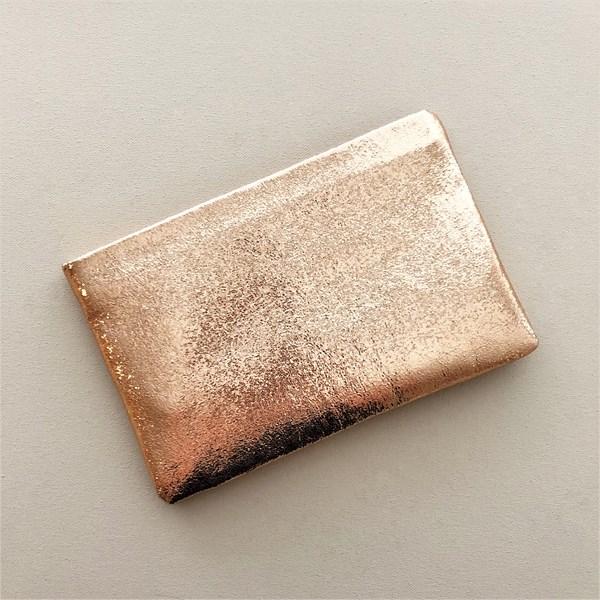 Metallic Textured Recessed Clutch
