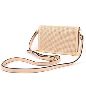 Mini Dot Cut Out Wallet Crossbody Bag