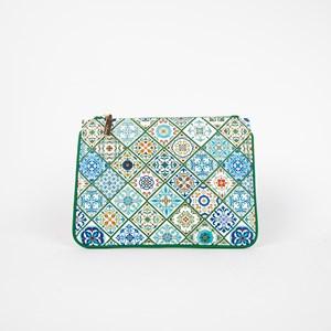 Italian Summer Tiles Zip Top Pouch
