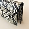 Faux Snake Flap Over Clutch - pr_62125
