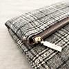 Tweed Flap Over Clutch - pr_61505