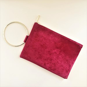 Metal Ring Vertical Pouch