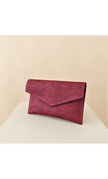 Bloom Cut Out Envelope Clutch