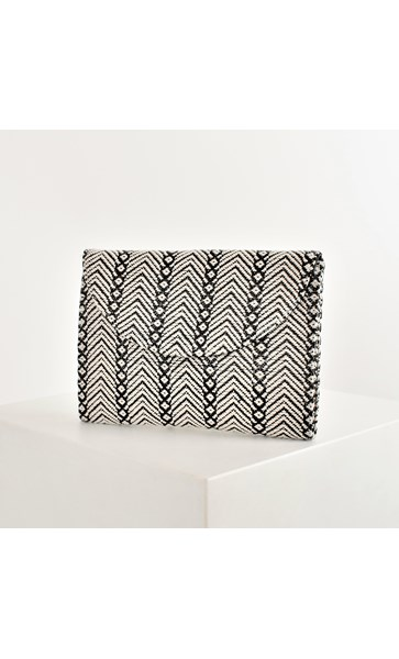 Mayan Weave Fold Over Clutch