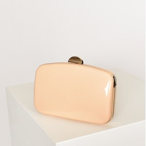 Gloss Curved Structured Clutch