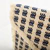 Diamond Weave Fringe Edge Envelope Clutch - pr_67799