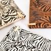 Zebra Print Zip Top Pouch - pr_75261
