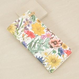 Floral Zip Around Wallet