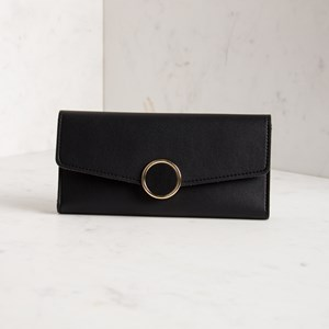 Sophia Circle Front Fold Over Wallet