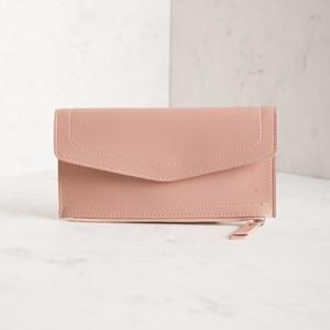 Allison Zip Bottom Fold Over Wallet