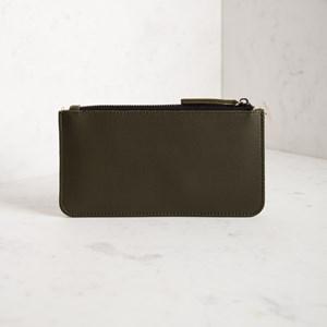 Maria Zip Top Double Compartment Wallet