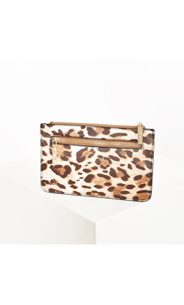 Zip Front Rectangle Pouch Wallet